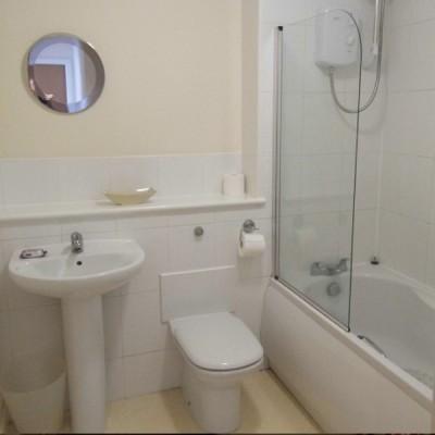 Hatters Court bathroom area