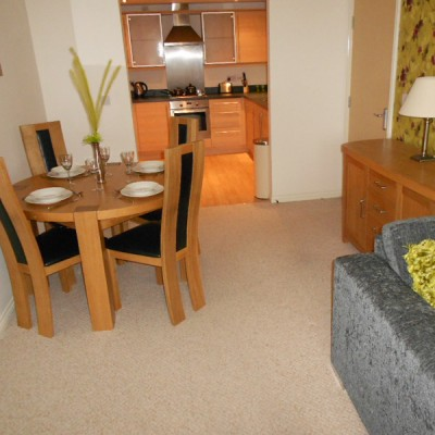 Gladstone Mews dining area