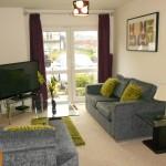 Gladstone Mews living area